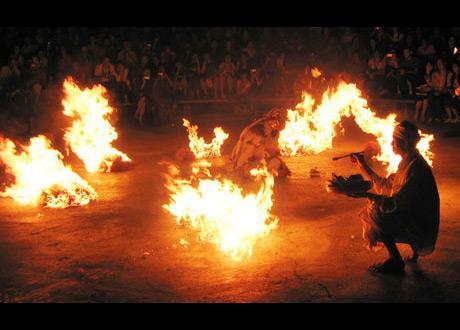 Balinesische Tänze